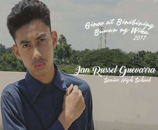 SHS Grand Winner male - Ian Russel Guevarra